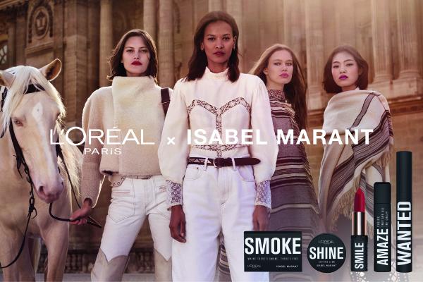 L'Oreal x Isabel Marant– ko se združita moda in lepota