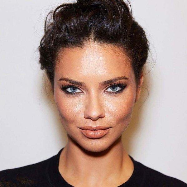 preprost makeup za precudovite oci