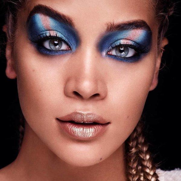 rave party makeup