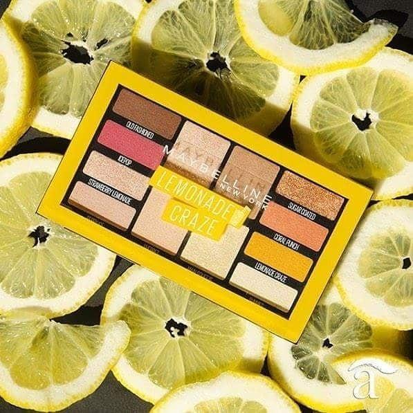 Maybelline New York Lemonade Craze: paleta senčil za celoten videz