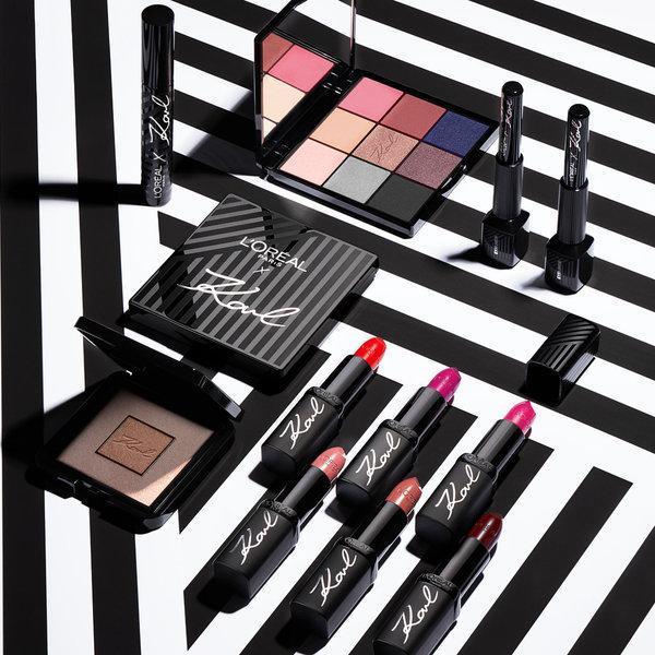 Karl Lagerfeld x L'Oréal Paris – Ena od najnovejših kolaboracij z osebnim pečatom modnega genija