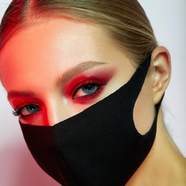 Kako se naličiti, ko nosiš zaščitno masko