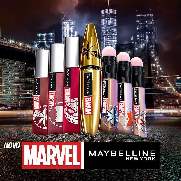 Poglej si vse kolekciji o Marvel x Maybelline in kje jo lahko poiščeš