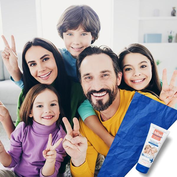 Družinska krema: hidrira, pomirja in ščiti občutljivo kožo